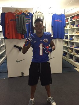 Byron Terry-Florida Visit